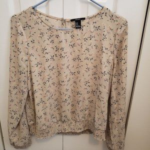 Forever 21 Loose Floral Blouse